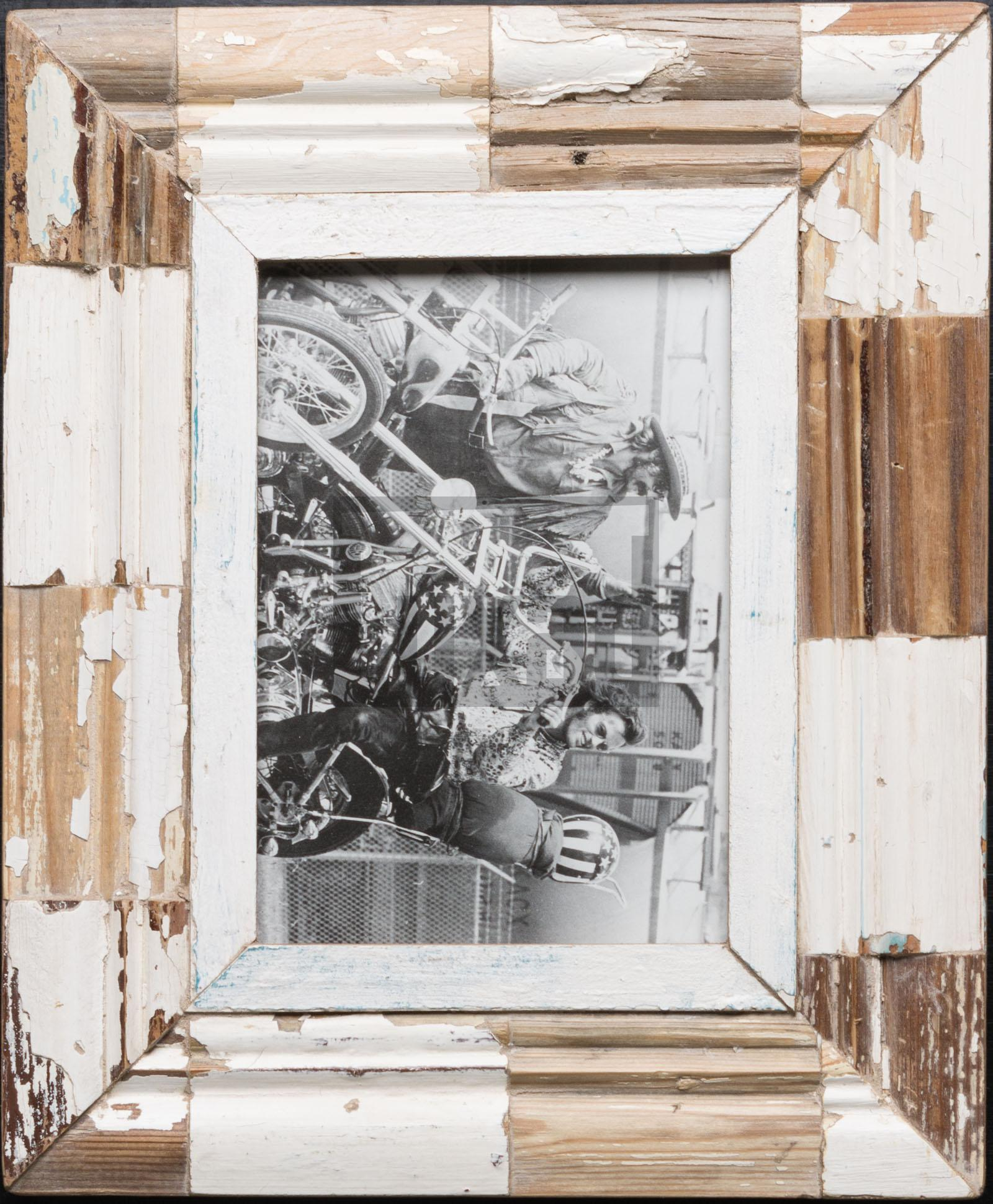 Holzmosaik-Bilderrahmen