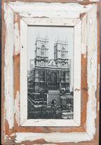 Panorama-Bilderrahmen aus recyceltem Holz von der Luna Design Company