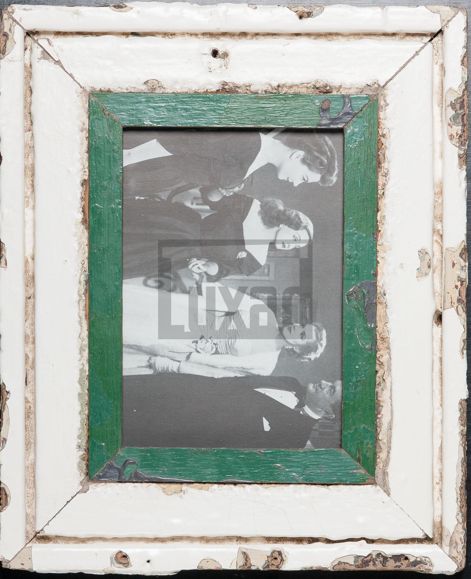 Wechselrahmen aus Altholz für ca. 14,8 x 21 cm