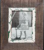 Bilderrahmen aus recyceltem Holz für ca. 14,8 x 21 cm