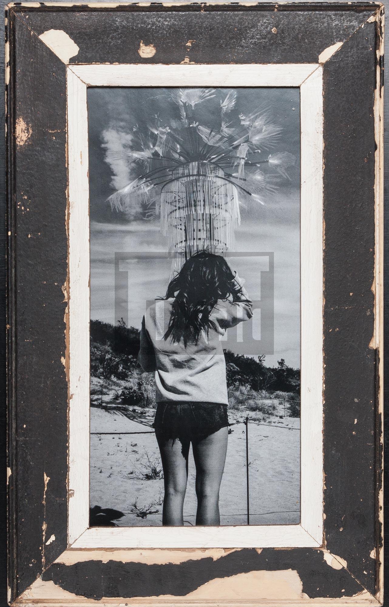 Schwarzer Panorama-Bilderrahmen aus Kapstadt