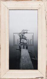 Panorama-Bilderrahmen aus recyceltem Holz von Luna Designs