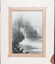 Bilderrahmen aus recyceltem Holz für Fotos DIN A4