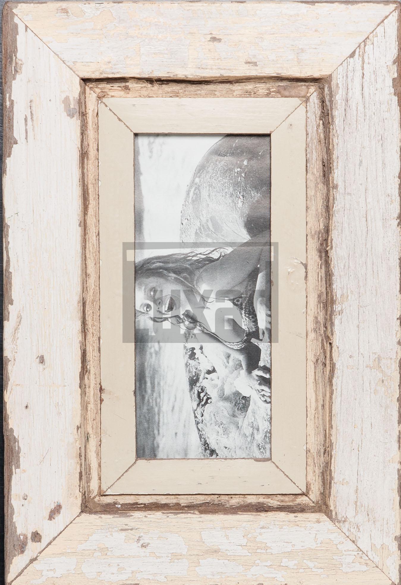 Panorama-Fotorahmen aus Recyclingholz