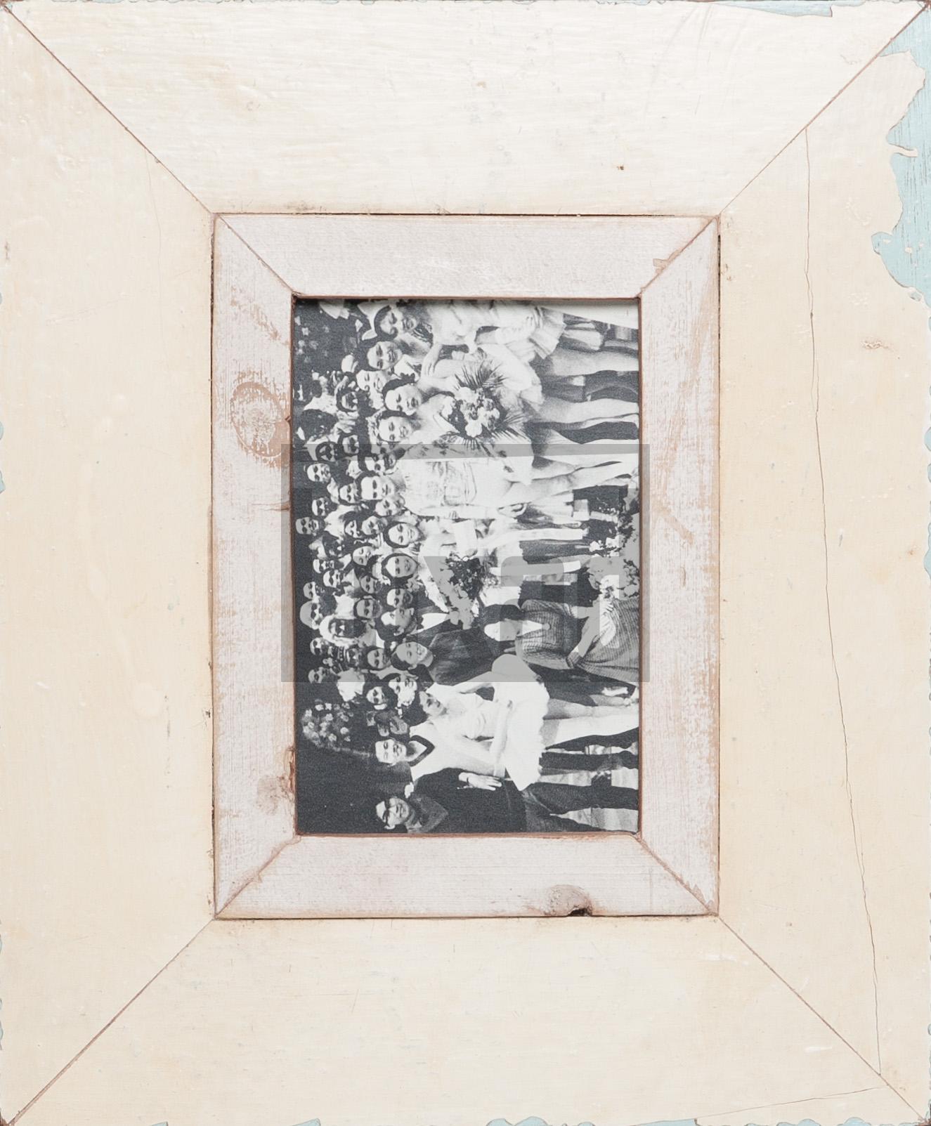 Vintage-Bilderrahmen für Fotos DIN A6