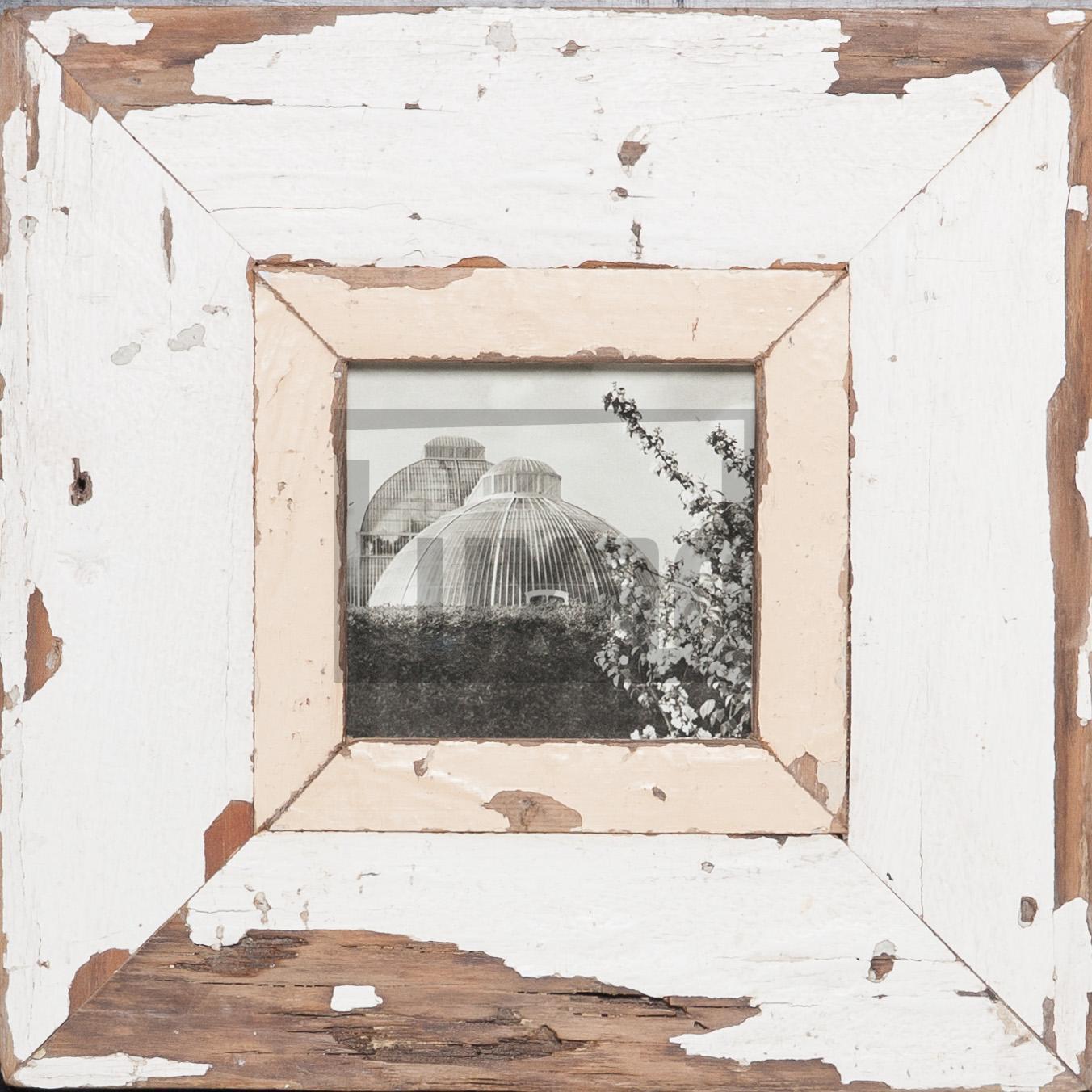 Quadratischer Vintage-Bilderrahmen für ca. 10,5 x 10,5 cm