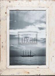 Vintage-Bilderrahmen aus altem Holz für Fotos DIN A3