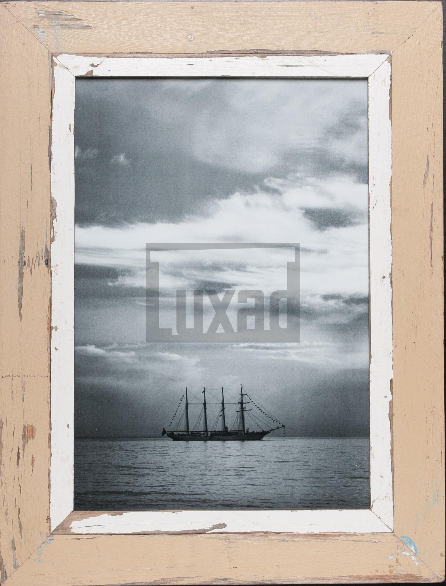 Wechselrahmen aus Altholz für Fotos DIN A3