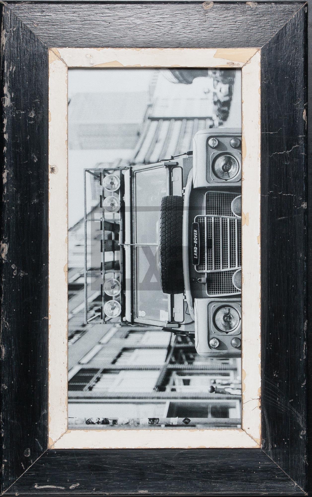 Panorama-Vintage-Bilderrahmen für Panoramafotos