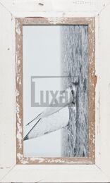 Panorama-Fotorahmen aus Recyclingholz für Fotos ca. 21 x 42 cm