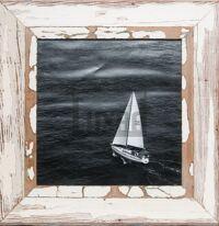 Quadratischer Vintage-Bilderrahmen für quadratische 29,7 x 29,7 cm