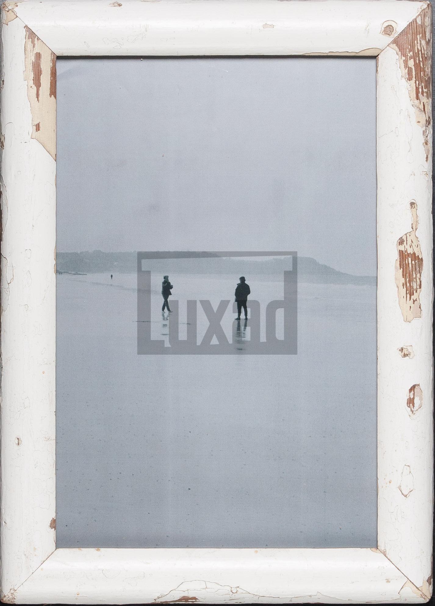 Bilderrahmen aus Recyclingholz für Fotos 25 x 38 cm