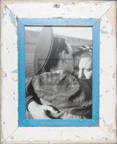 Wechselrahmen aus Altholz für Fotos DIN A4