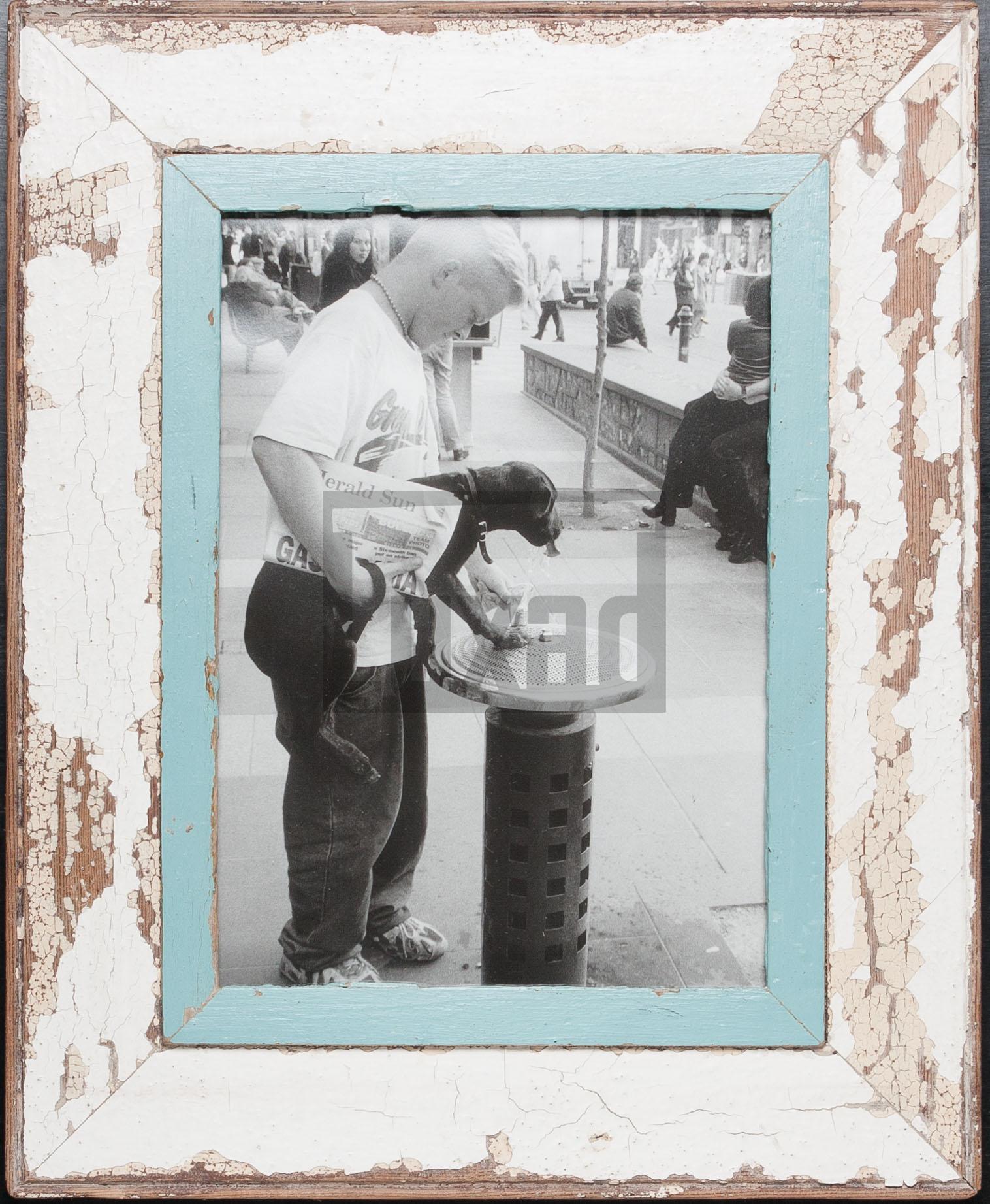 Vintage-Bilderrahmen für ca. 21 x 29,7 cm große Fotos