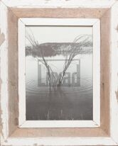 Bilderrahmen aus Recyclingholz für Fotos ca. 21 x 29,7 cm