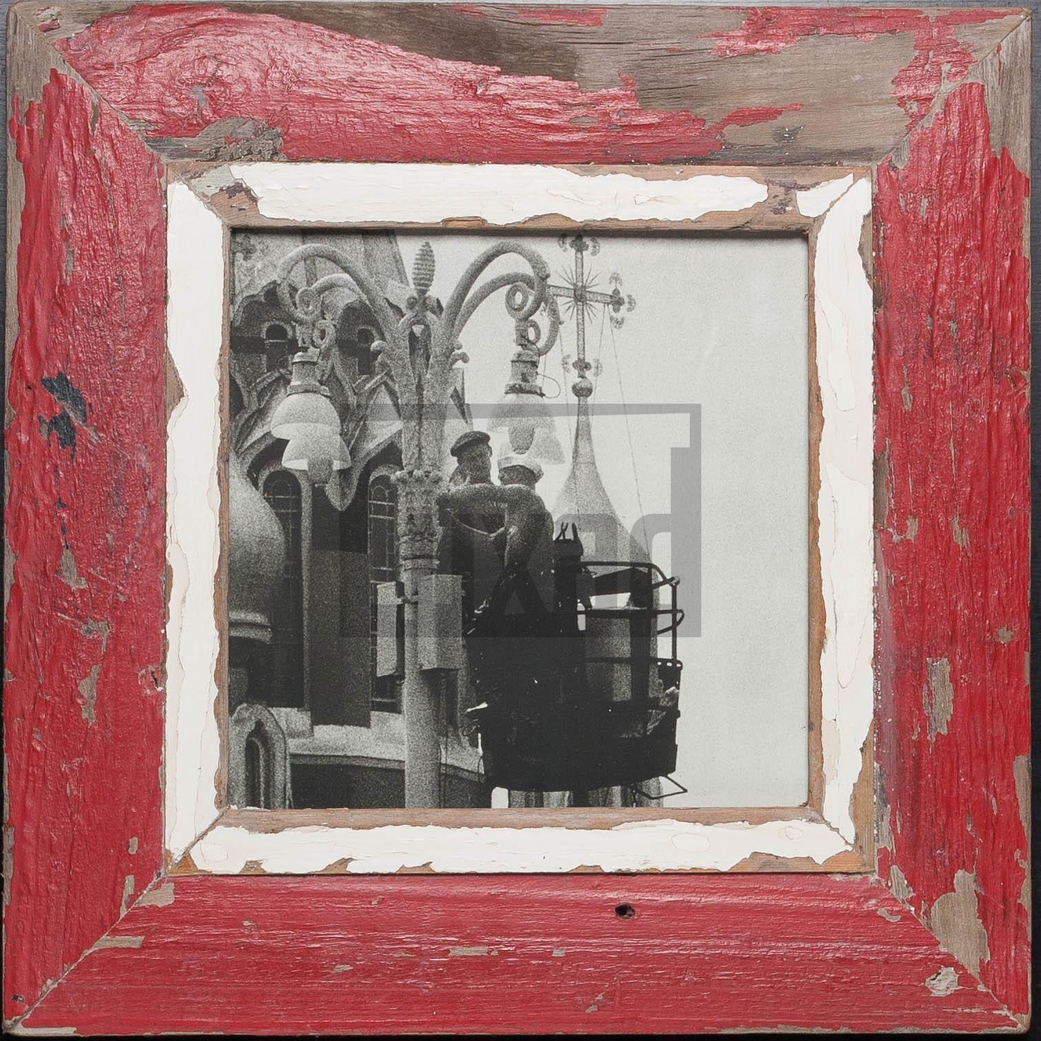 Quadratischer Vintage-Bilderrahmen von der Luna Design Company