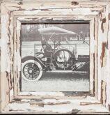 Quadratischer Holzrahmen für quadratische Fotos
