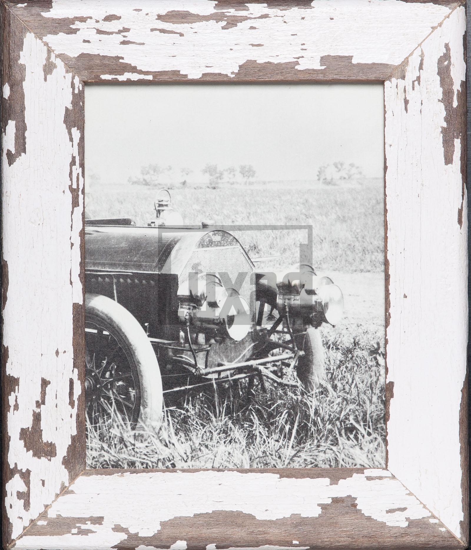 Vintage-Bilderrahmen aus altem Holz aus Kapstadt
