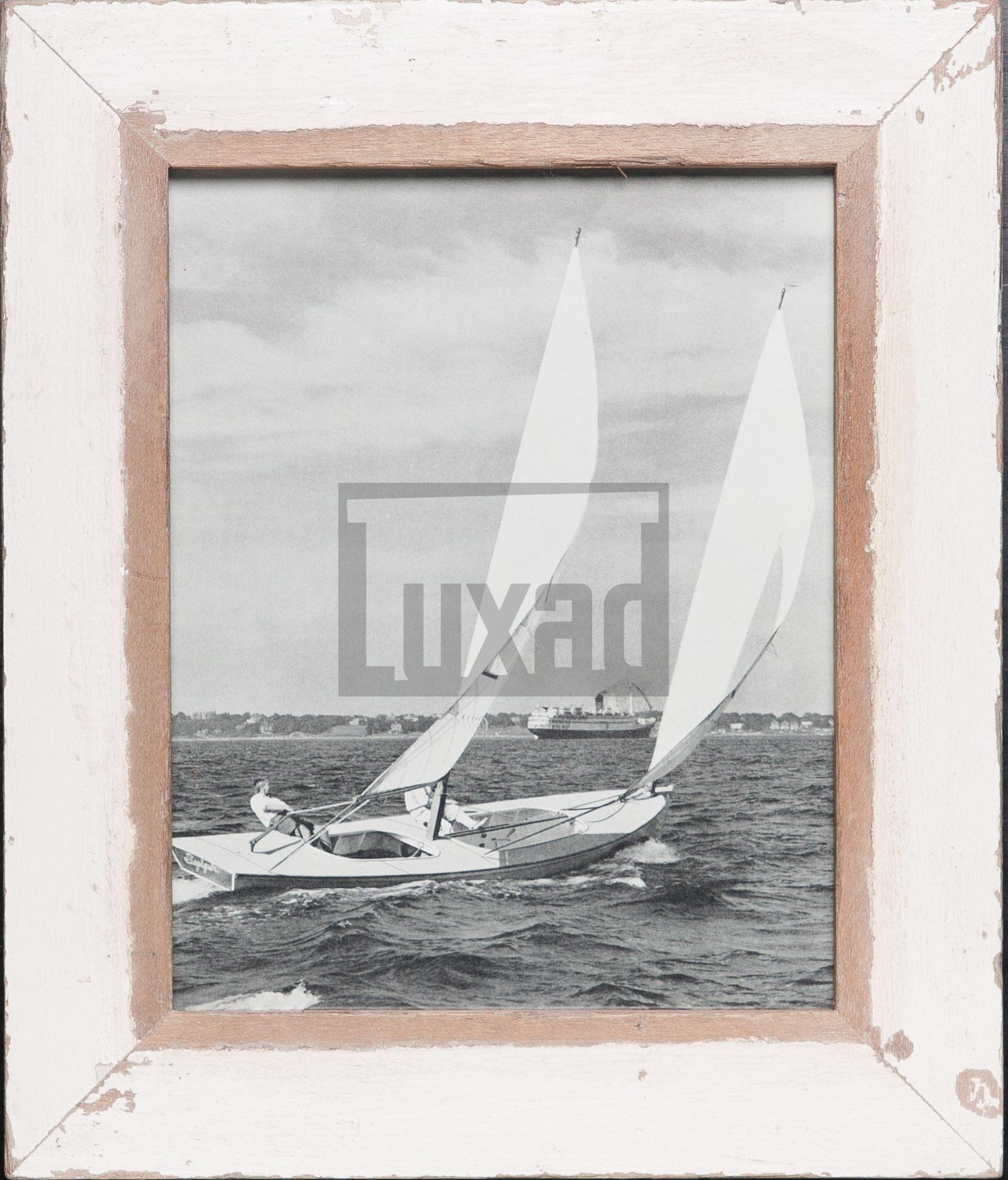 Vintage-Bilderrahmen aus altem Holz für Fotos 20 x 25 cm