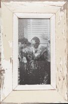 Panorama-Bilderrahmen aus altem Holz