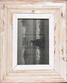 Vintage-Bilderrahmen aus altem Holz aus Südafrika