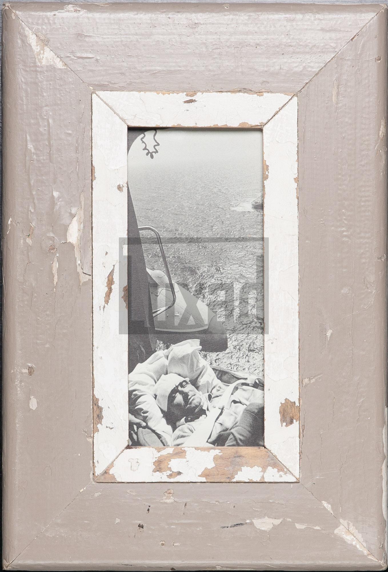 Panorama-Vintage-Bilderrahmen für Panoramen 1:2