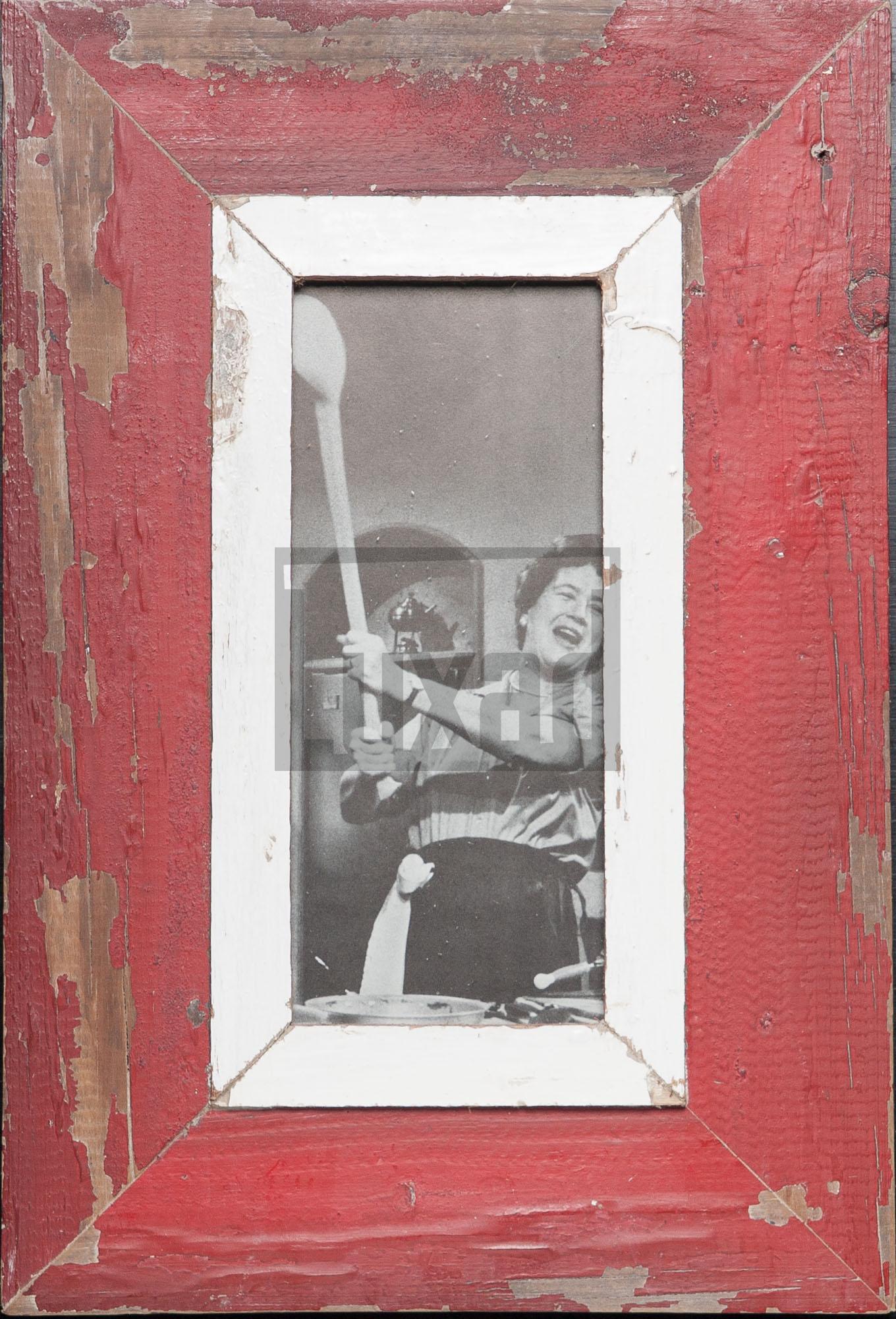 Panorama-Bilderrahmen aus altem Holz für dein Lieblingsfoto