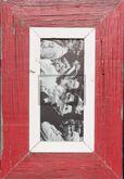 Panorama-Vintage-Bilderrahmen für Fotos ca. 10,5 x 29,7 cm