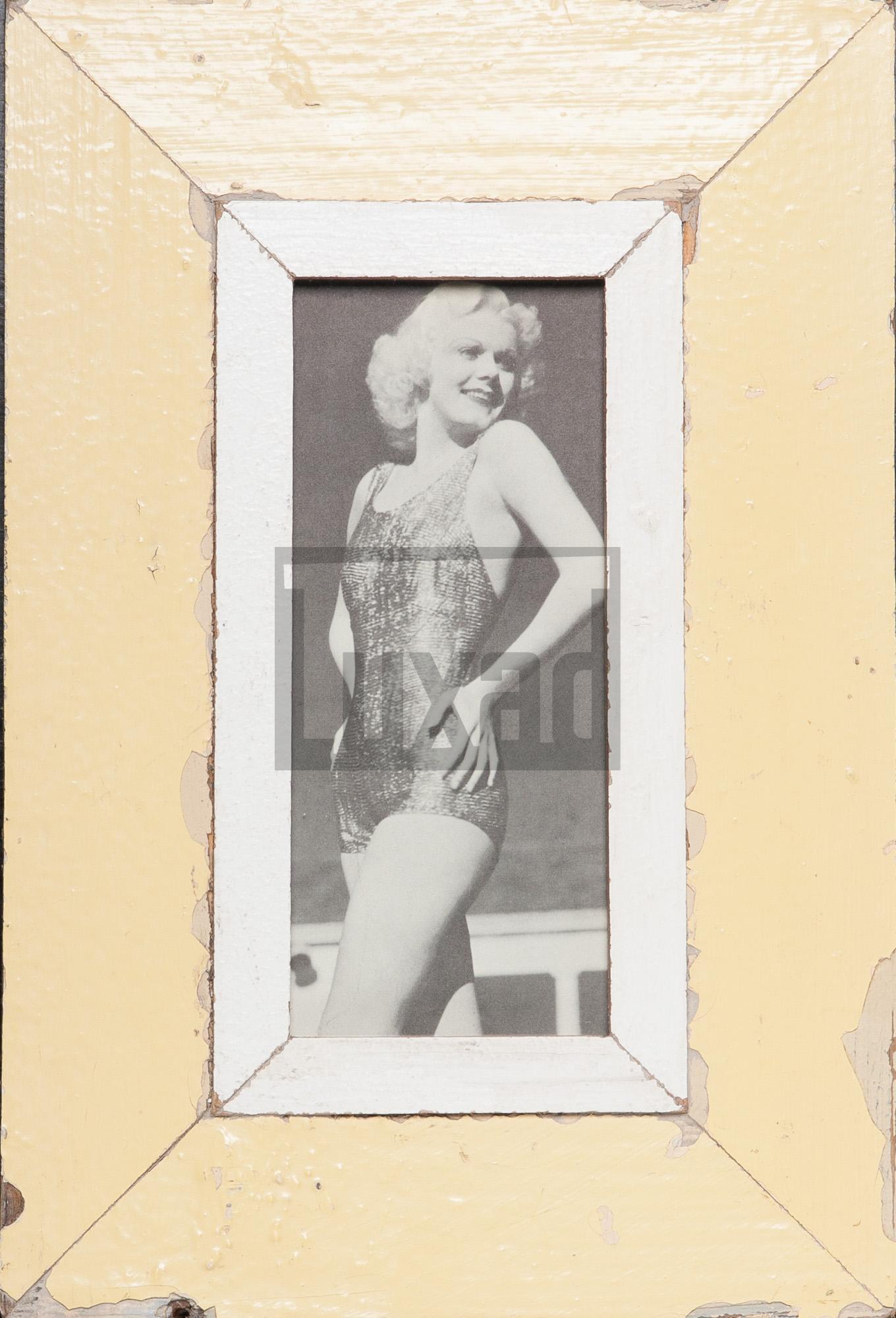 Schmaler Vintage-Bilderrahmen für Panoramen 1:2