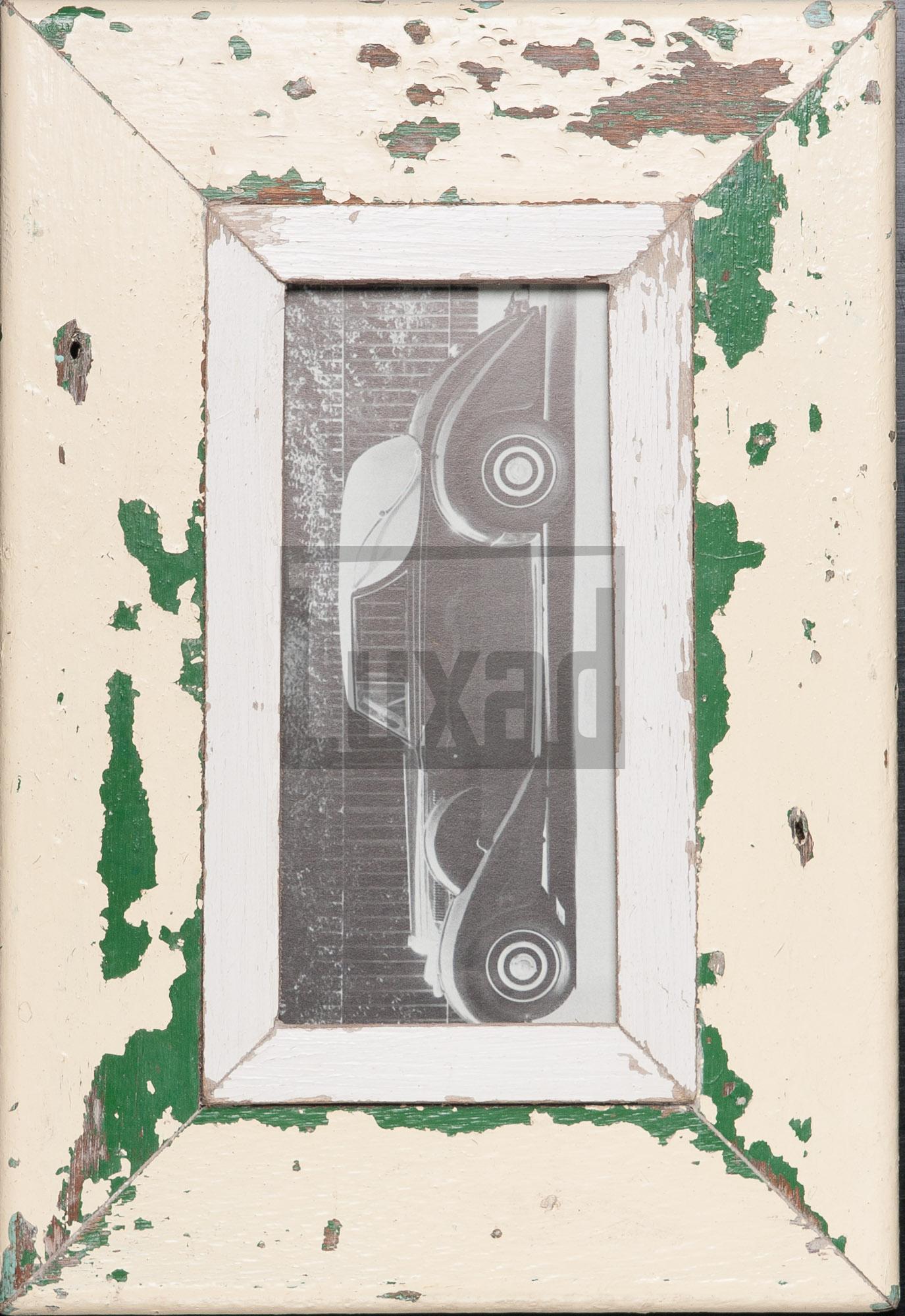 Schmaler Vintage-Bilderrahmen aus Kapstadt