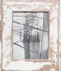 Vintage-Fotorahmen aus recyceltem Holz für 15 x 20 cm große Fotos