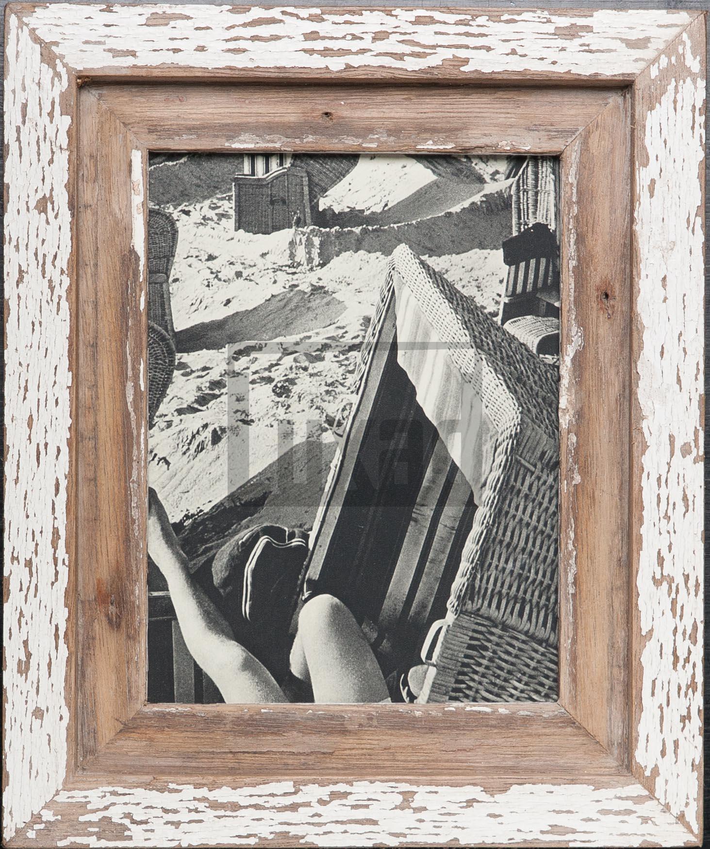 Bilderrahmen aus Recyclingholz für die Bildgröße 15 x 20 cm