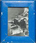 Vintage-Fotorahmen aus recyceltem Holz für Fotos 15 x 20 cm