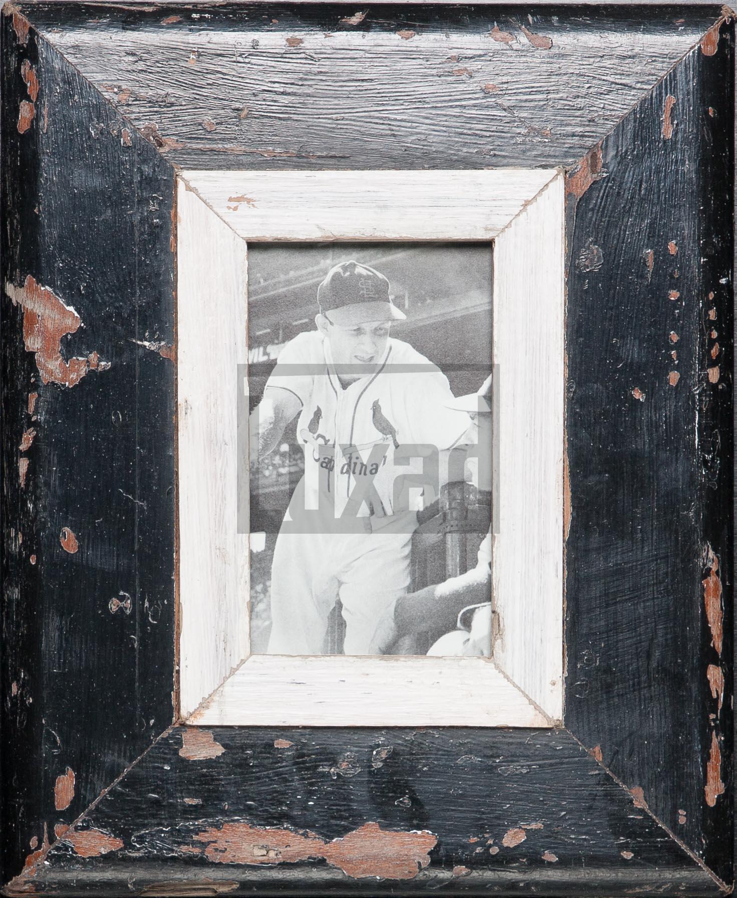 Altholz-Bilderrahmen für ca. 10,5 x 14,8 cm