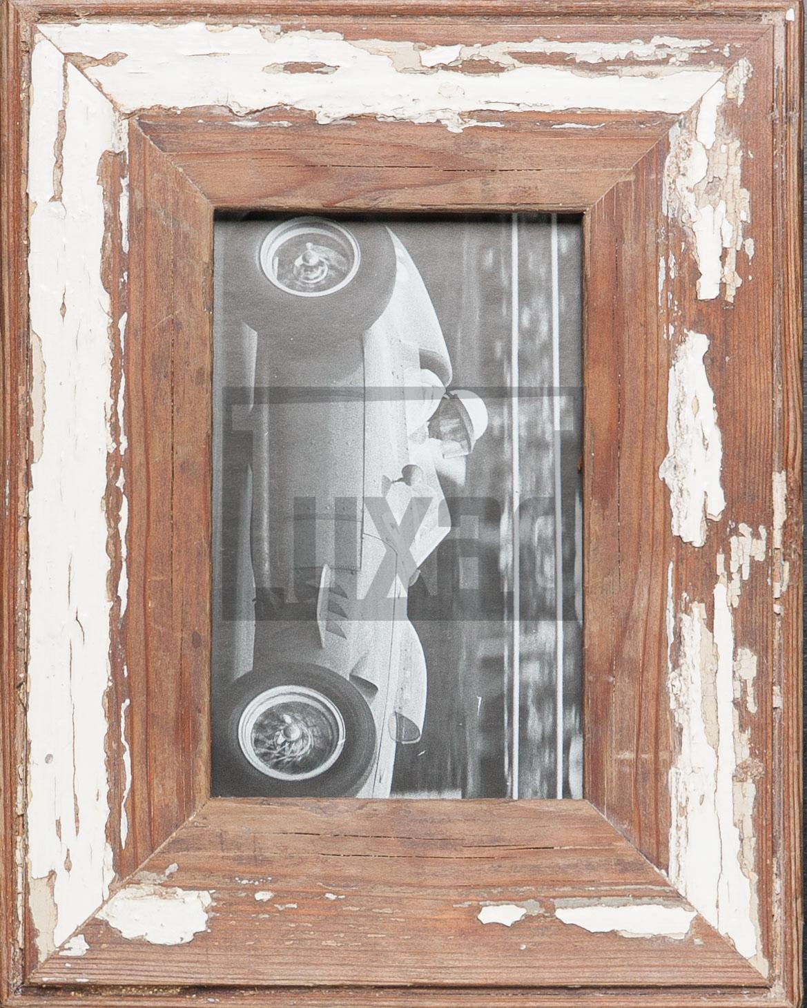 Vintage-Bilderrahmen aus altem Holz für die Bildgröße 10 x 15 cm